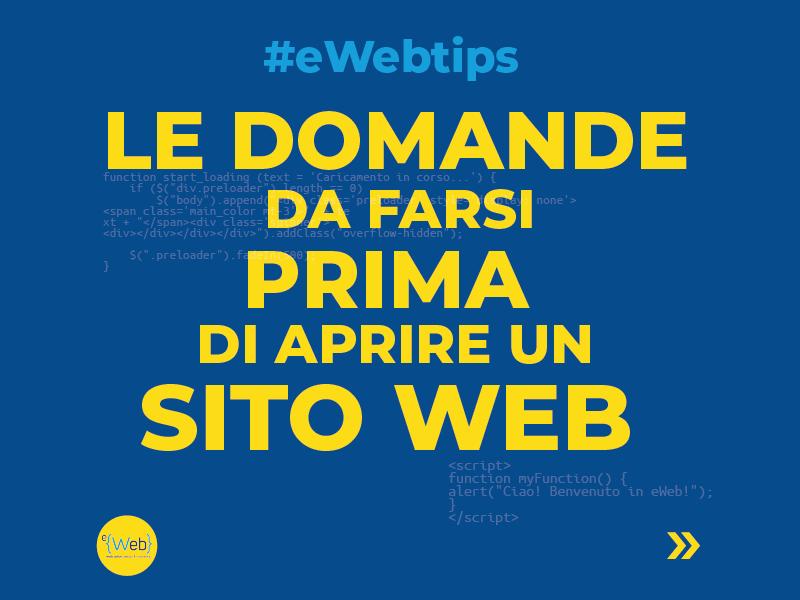 Tipologie siti web | come scegliere quello giusto - eWeb