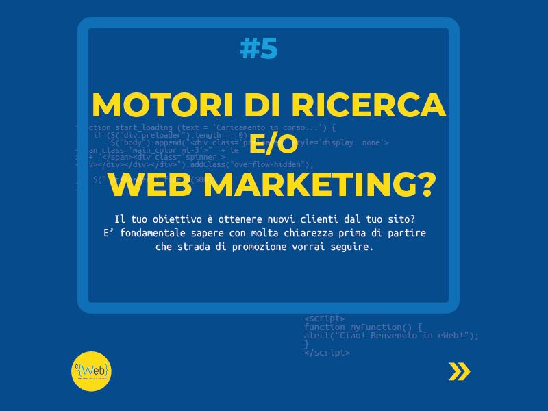 Tipologie siti web | come scegliere quello giusto: indicizzazione e web marketing -  Siti Internet & Web Marketing | eWeb SRL Bergamo