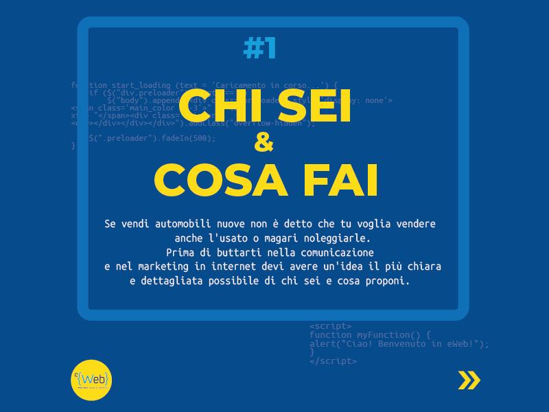 Tipologie siti web | come scegliere quello giusto: chi sei -  Siti Internet & Web Marketing | eWeb SRL Bergamo