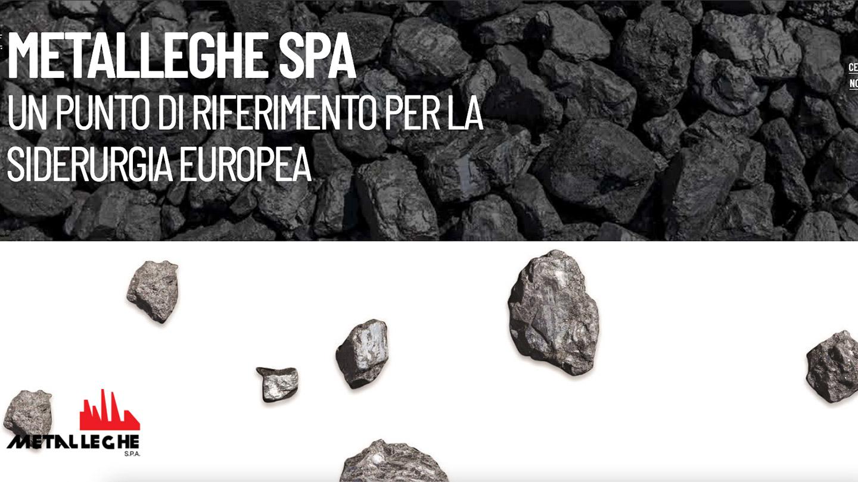 Metalleghe Group - il nuovo sito realizzato da eWeb Bergamo