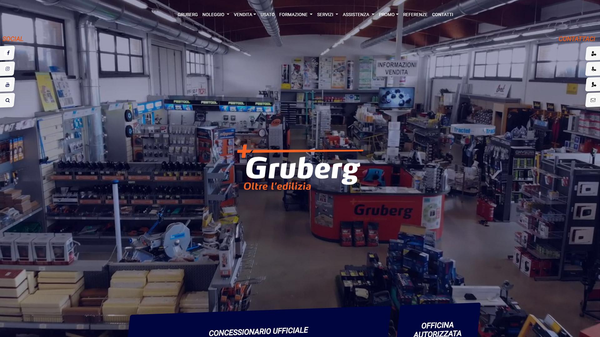 Gruberg S.p.A. ha scelto eWeb per le sue attività di web marketing