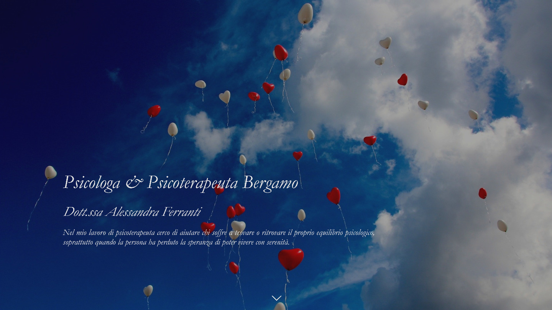sito web Psicologa Dott.ssa Alessandra Ferranti - tailor made by eWeb