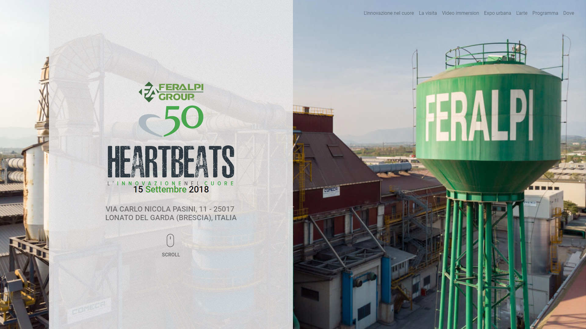 50° Feralpi Group - Heartbeats