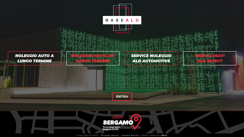 sito web Base ALD Bergamo - tailor made by eWeb srl