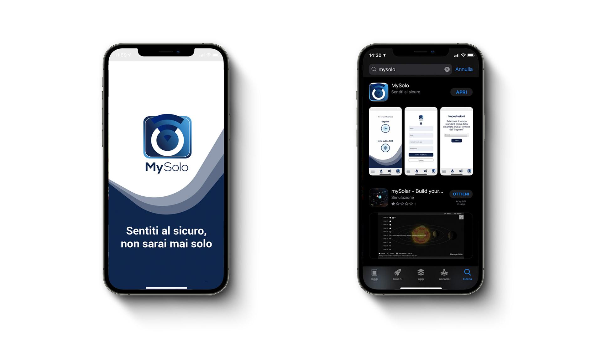 Mysolo - APP - realizzata da eWeb Bergamo