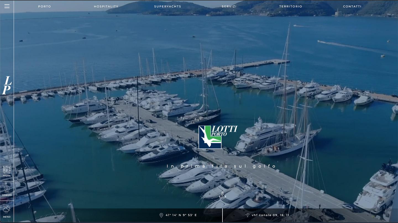 Porto Lotti - sito web realizzato da eWeb Bergamo