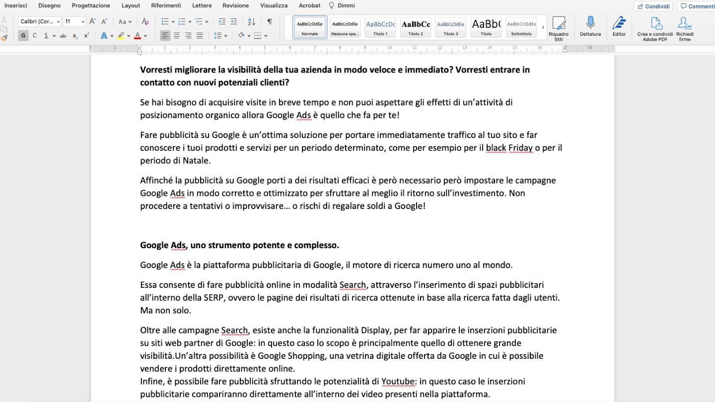 contenuti a supporto della SEO per il tuo sito -  Siti Internet & Web Marketing | eWeb SRL Bergamo