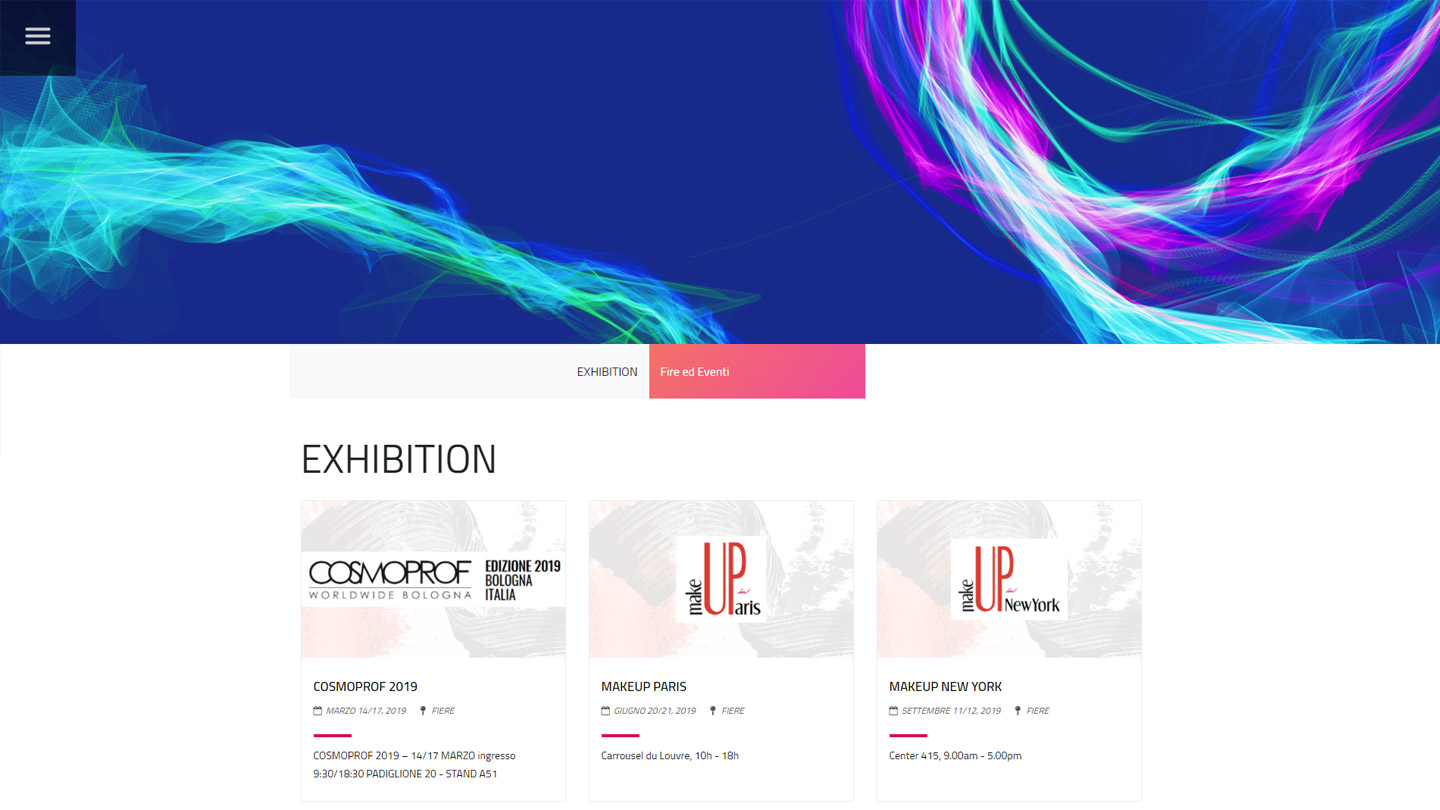 Cosmetion Cosmetic Emotion - Exhibition