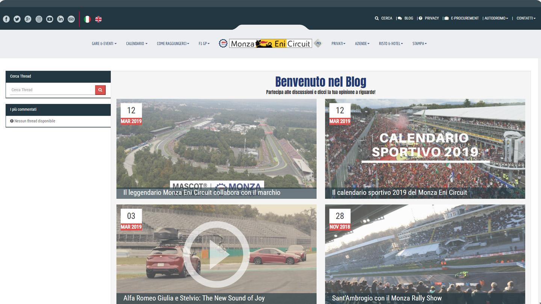 Monza Eni Circuit - Il Blog