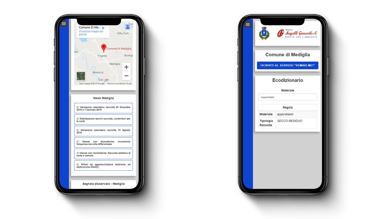 Sangalli Impresa - Web App: Attenzione all'Ambiente