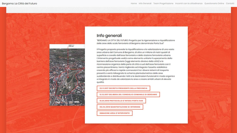 Bergamo La Città del Futuro - Info Generali -  Siti Internet & Web Marketing | eWeb SRL Bergamo