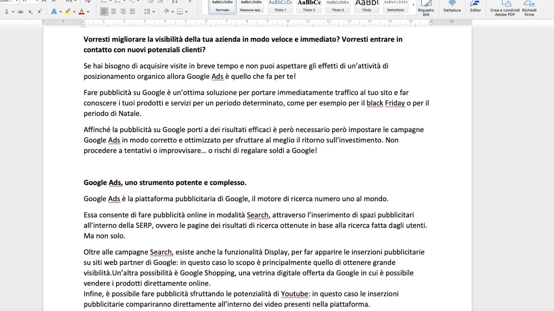 web copywriter -  Siti Internet & Web Marketing | eWeb SRL Bergamo
