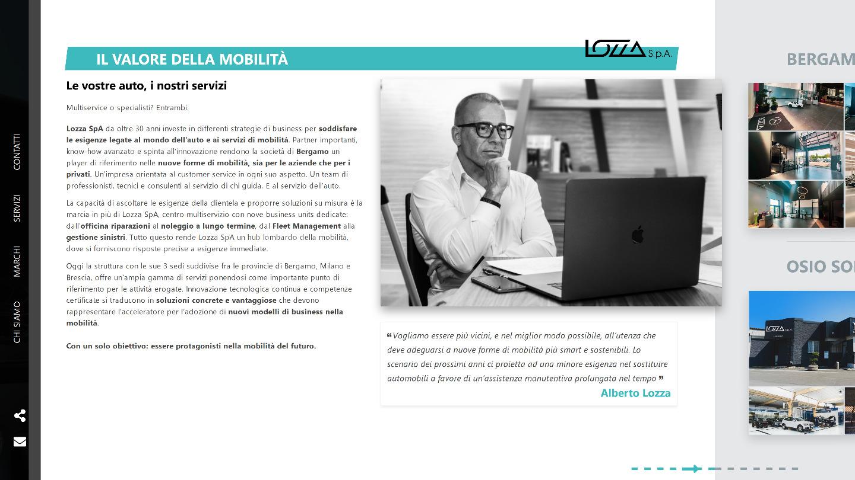 Lozza SpA: autofficina e carrozzeria multimarca a Bergamo -  Siti Internet & Web Marketing | eWeb SRL Bergamo